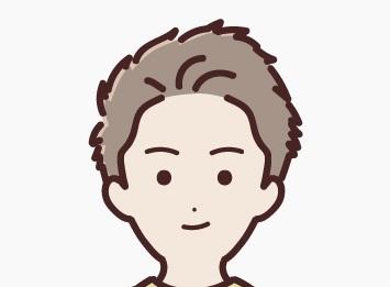 少年の短い髪型